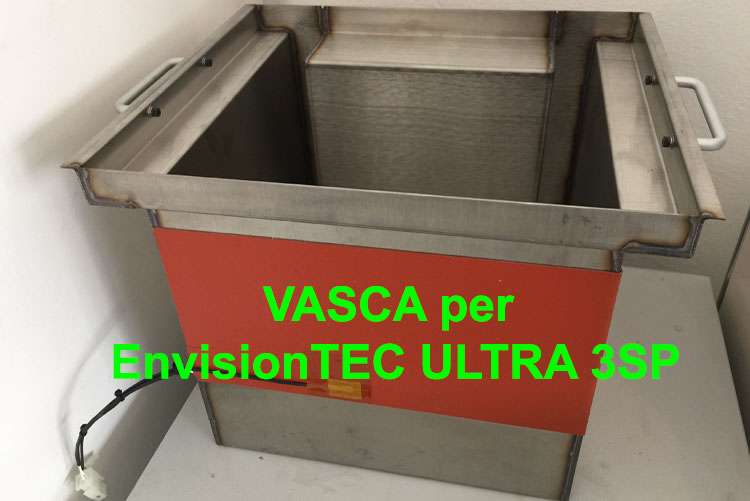 Vasca per ultra 3SP - VAT for envisionTEC ultra 3SP 3D Pronter