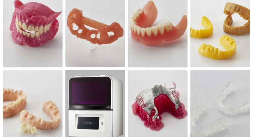 3D dental printer