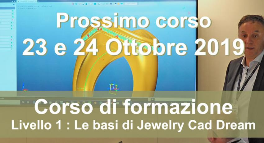 Jewelry Cad Dream training course