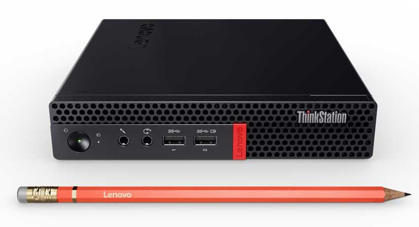 Lenovo workstation grafica tiny